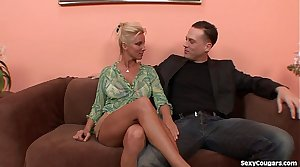 Horny Beauteous MILF Can't Get Enough Dick