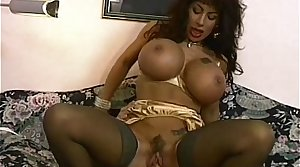Brunette MILF With Gigantically Gifted Bristols Fucked