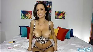 Camsoda - HOT MILF Lisa Ann Big Tits Masturbation