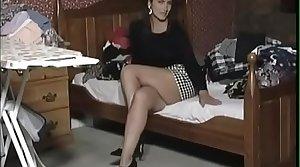 Vintage stockings mature -