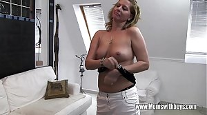 Horny Mature Stepmom Fucks Son Not fair Masturbating