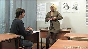 Russian mature tutor 2 - Nadezhda (mature teachers orgies)