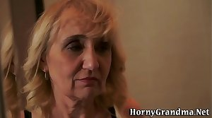 Mature grannys ass fucked