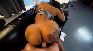 Hot black milf with a grand ass gets fucked REAL constant