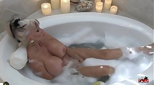 Hot MIlf in Bubble Cleansed - Sally D'angelo