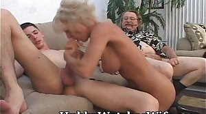 Mature Takes Cum Foreign Young Stud & Hubby