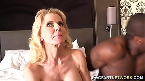Cammille Gets Their way Cougar Pussy Banged By Black Guys