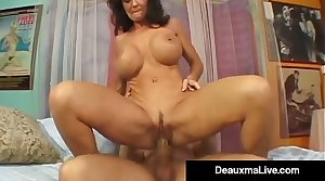 Texas Cougar Deauxma Squirts Non-native Her Creaming Hot Pussy!