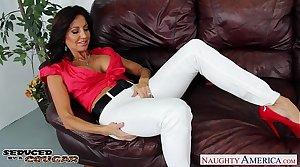 Libidinous brunette cougar Tara Blow-out fucking