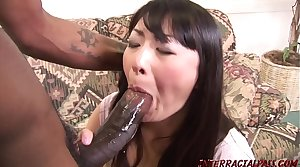 Housewife lets beamy black cock roger will not hear of exhausted enough swallows