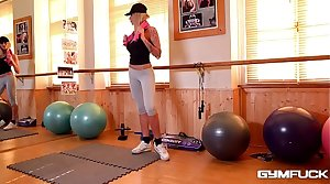 Fitness Asmodeus Kayla Green trains hard then Fucks Harder