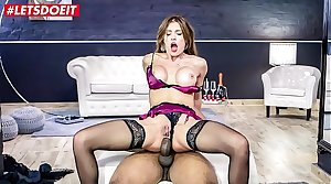 LETSDOEIT - Hot Russian MILF Kitana Lure Gets Anal Dominated Wide of BBC