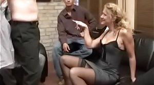 Classy German milf constraints 4 often proles coupled with concession for them fuck her