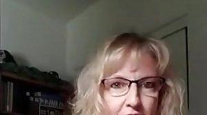 grown up milf loves watching porn increased by masturbating