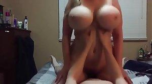 Amateur HOT Blonde Milf Homemade Sex