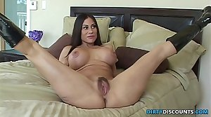 Assfucked housewife cheats insusceptible to her husband