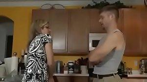 Cory Track in SON FUCKS STEPMOM Back THE Kitchen