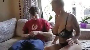 Mr Big step mom fucked by son's friend