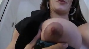 Leena sky in mom shows son the tip enjoyment