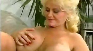 Son fucks busty mom & sis
