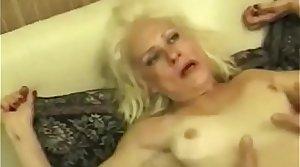 Squirting Granny Takes Ballpark Fucking