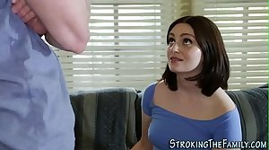 Teen stepsis gets pounded
