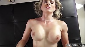 A milf forces her mom to sex while his father out first time Cory