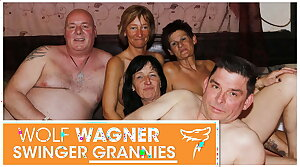 Grotesque mature swingers have a fuck fest! Wolfwagner.com