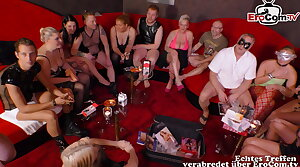 real german swinger party near young couple