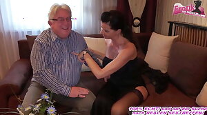German milf with big gut fucks grandpa within reach escort date