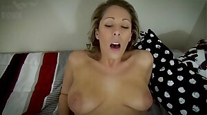 Mommy Made a Mistake: Mothers and Sons Shouldn't Have Sex, POV - Foetus Fucks Mom, MILF, Family Sex, Blondes - Nikki Brooks