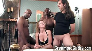 Grungy Creampie for Milf